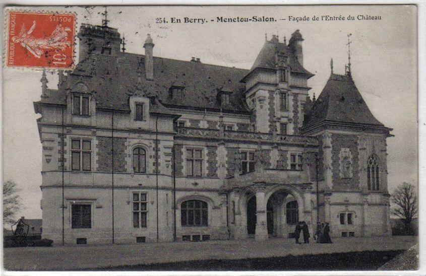 Cher - Menetou salon chateau ...